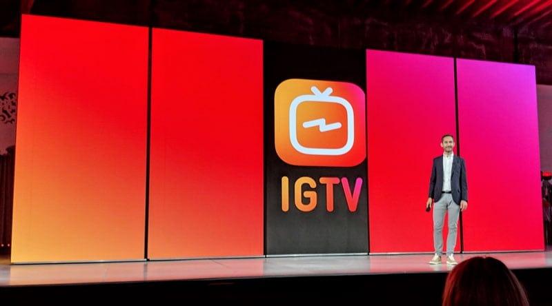 Instagram anuncia IGTV, a sua versão do Youtube